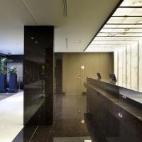 Alabastro de Arastone. Paneles de alabastro en el Washington Irving Hotel.