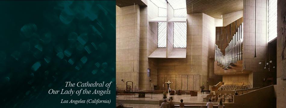 Alabastro en arquitectura. Catedral de los Angeles. Arastone.