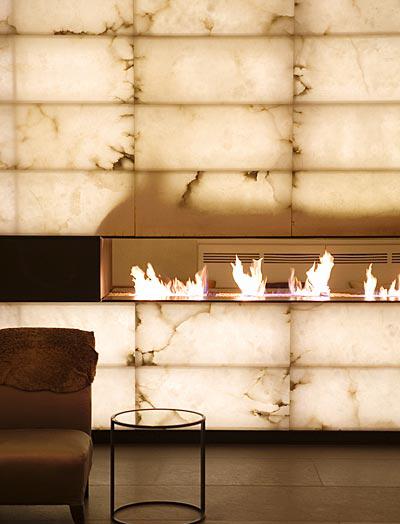 Diseño de interiores con alabastro