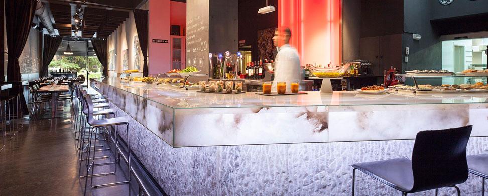 Alabastro en restaurantes y hoteles